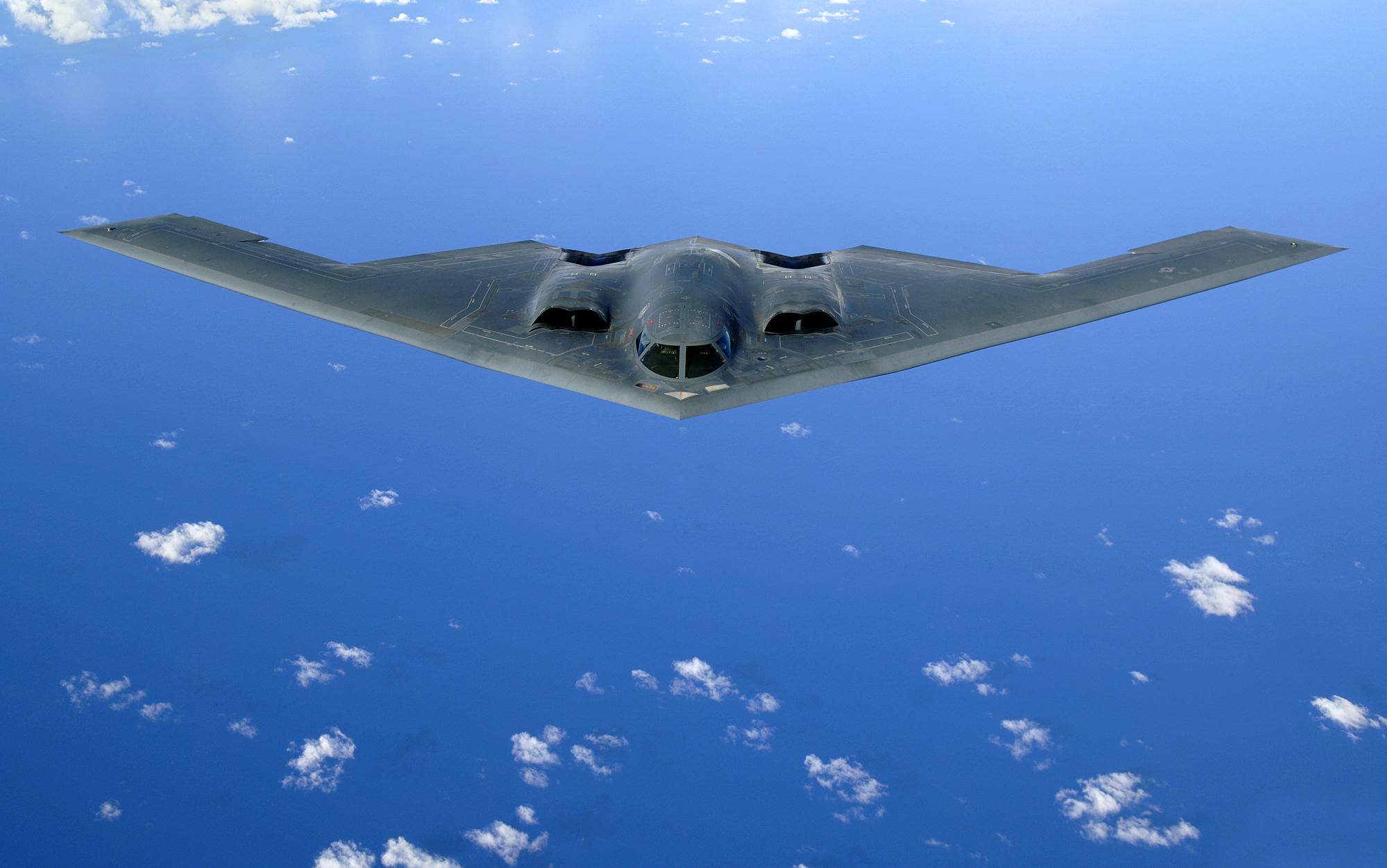 Бомбардировщик-невидимка B-2