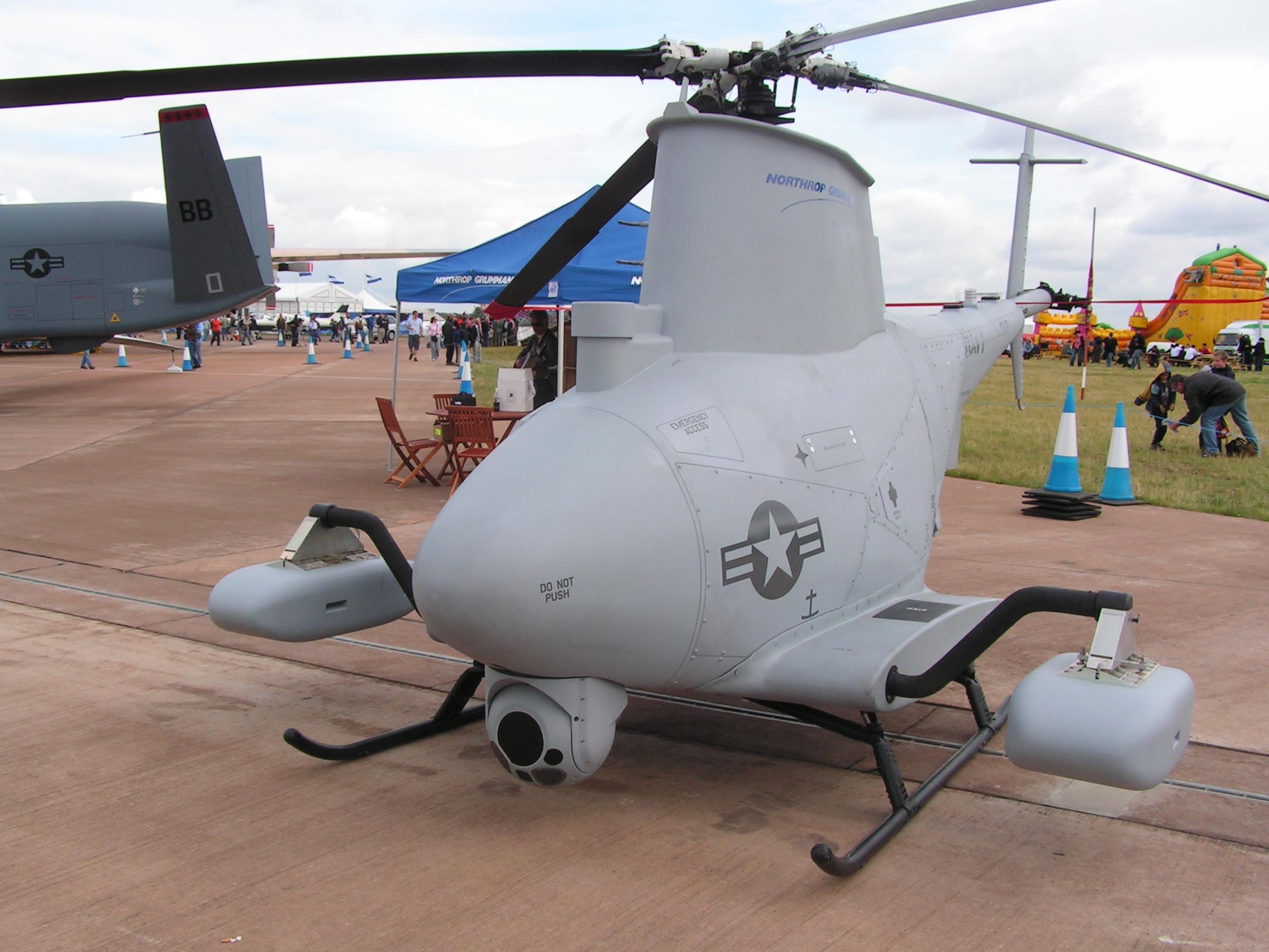 Беспилотный разведовательный вертолет