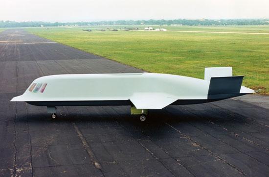 Tacit Blue - демо-самолет для отработки системы Stealth