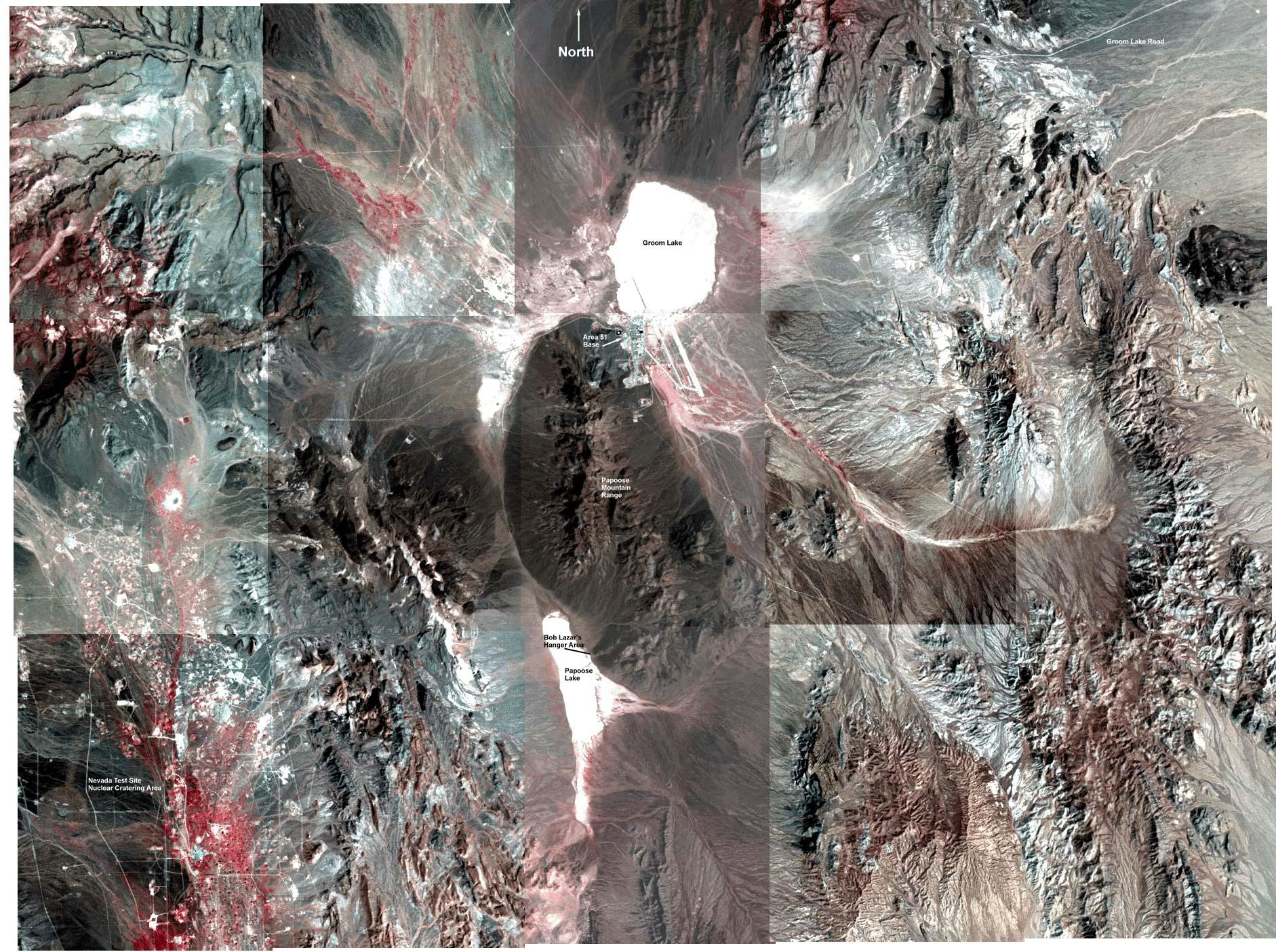 Area-51 фото со спутника
