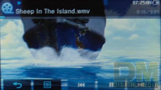 Просмотр видео на Samsung YP-P2