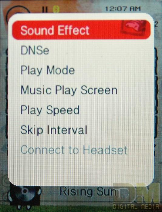 Настройки звука у Samsung T-10