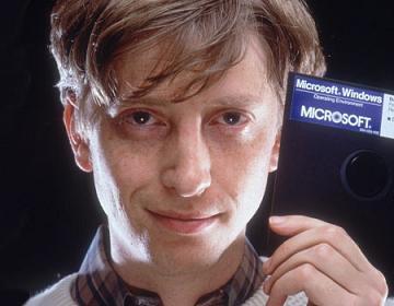 """Юный Билл Гейтс, """"сбивший с пути истинного"""" Стива Балмера"""