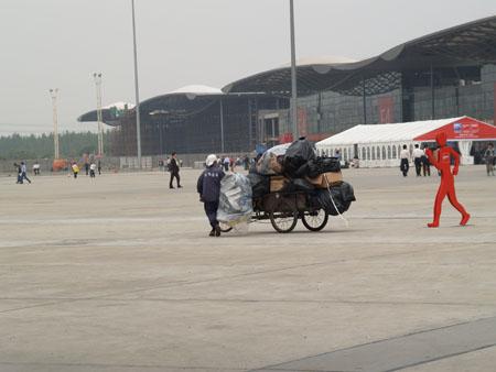 Выставочный комплекс в Шанхае