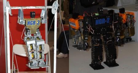 Все эти роботы хорошо смотрелись бы в магазине детской игрушки