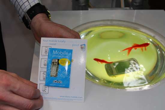 Презерватив для мобильного телефона