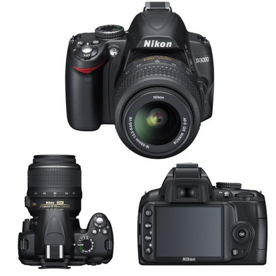 Цифровая фотокамера Nikon D3000 KIT 18-55VR