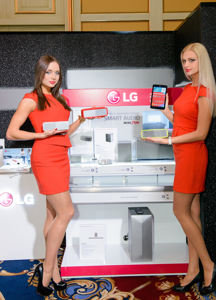LG SMART AUDIO системы