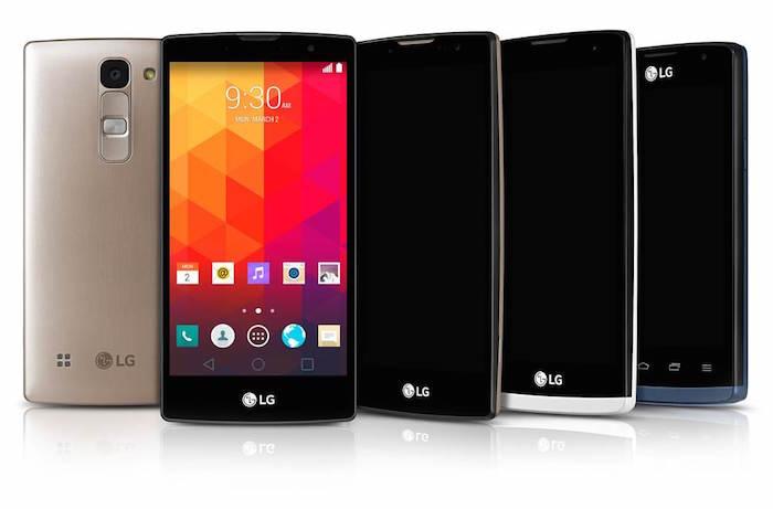 MWC 2015: LG Magna Spirit Leon Joy