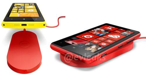так будет выглядеть родная беспроводная зарядка для Nokia Lumia
