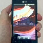 LG Optimus 3D попал в кадр