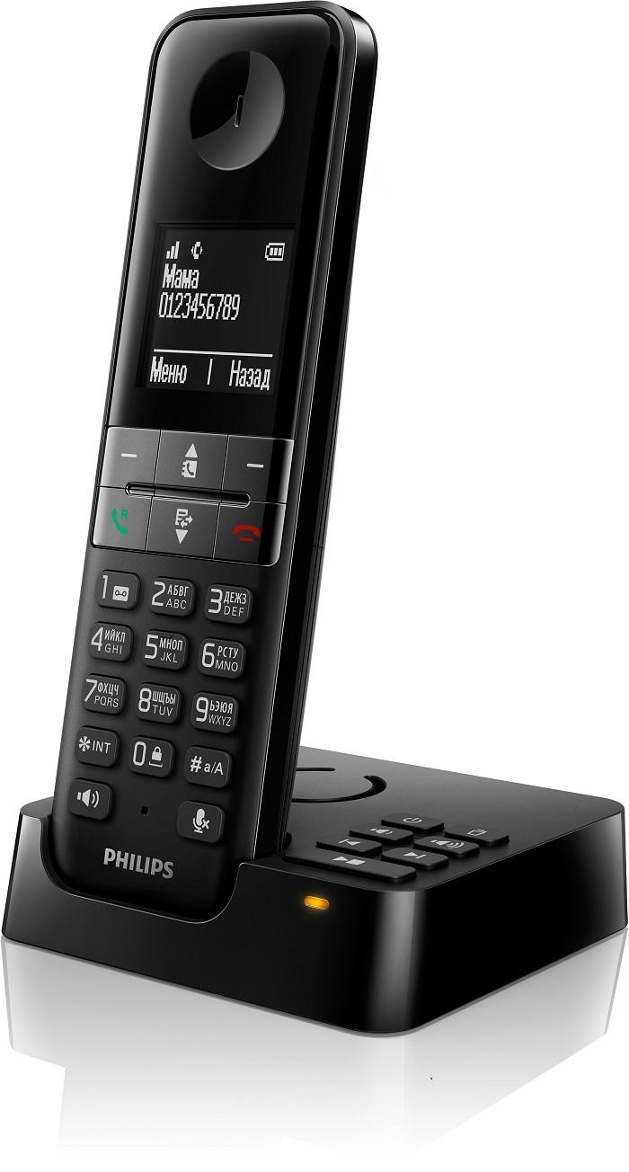 беспроводные телефоны Philips D4551B