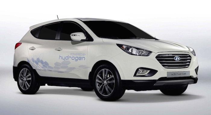 hyundai ix35 fuel cell новые модели Hyundai