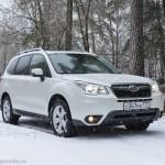 Тест драйв Subaru Forester 2014: по долинам и по взгорьям