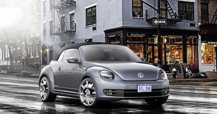 Volkswagen Beetle Cabriolet Denim