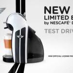 Nescafe и MINI создают Nescafe Dolce Gusto Limited Edition
