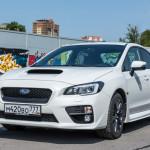 Тест драйв Subaru WRX: навстречу рекордам