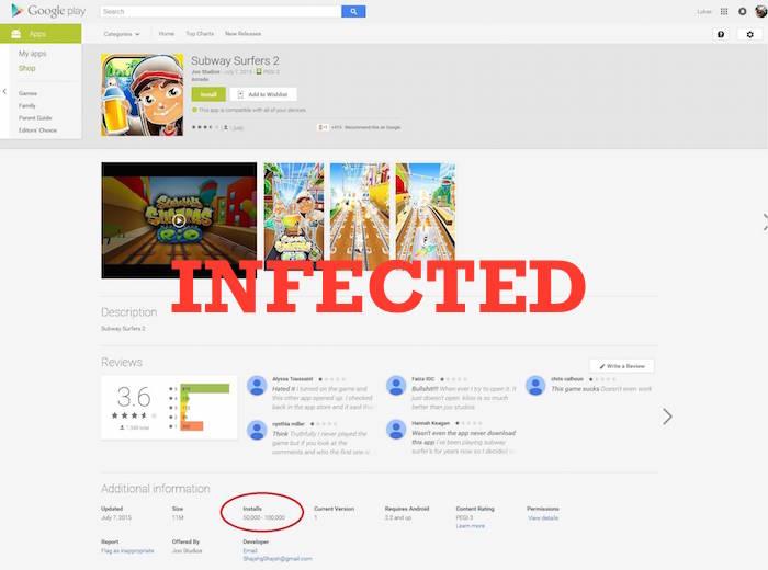 вирусы в Play Market