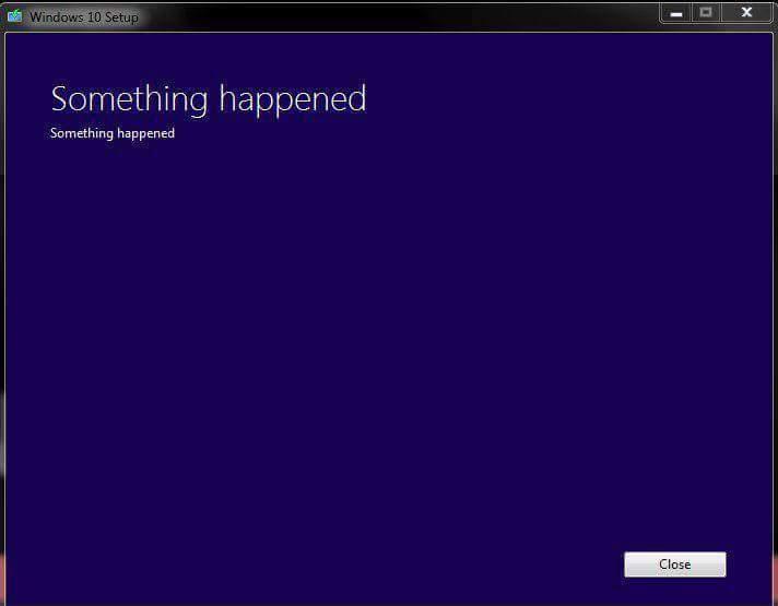 WIndows 10: что-то случилось