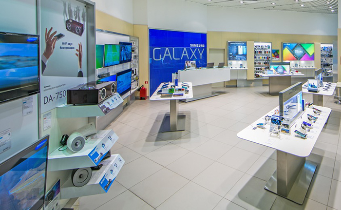 фирменные магазины Samsung