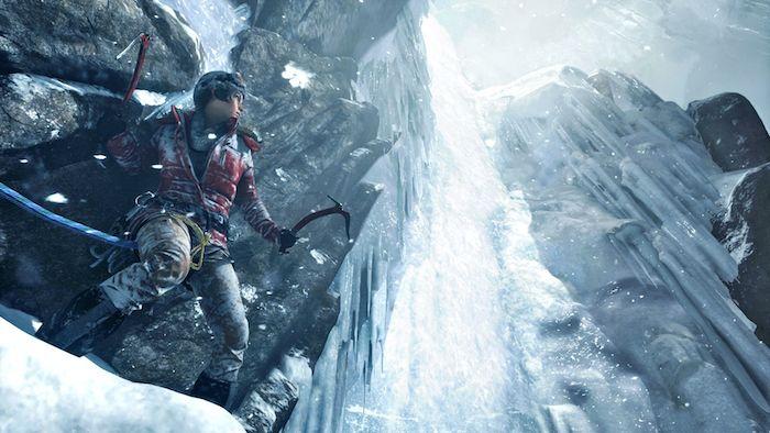 Геймплей Rise of the Tomb Raider
