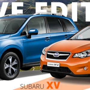 Subaru Active Edition – Forester и XV