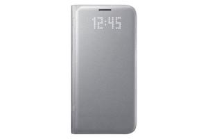 Чехол-книжка LED View Cover (EF-NG930P)_Silver