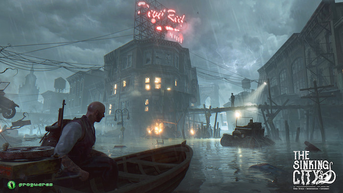 The Sinking City feature