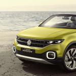 Volkswagen представила кабрио-кроссовер — T-Cross Breeze