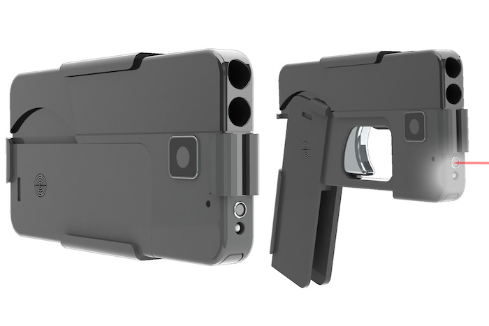 Cell Phone Shaped Handgun