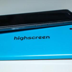 Highscreen Prime L яркий и тонкий