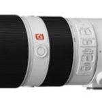 Sony объявила цены на телефото зум-объективы линейки G Master
