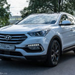 Hyundai Santa Fe — городской красавец