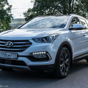 Hyundai Santa Fe – городской красавец