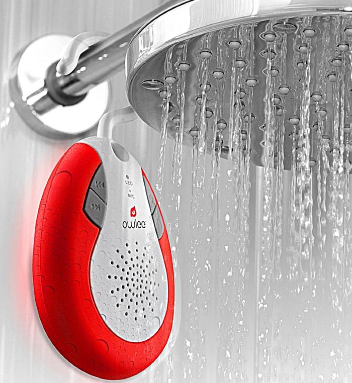 Clawsome Wireless Bluetooth Shower Speaker
