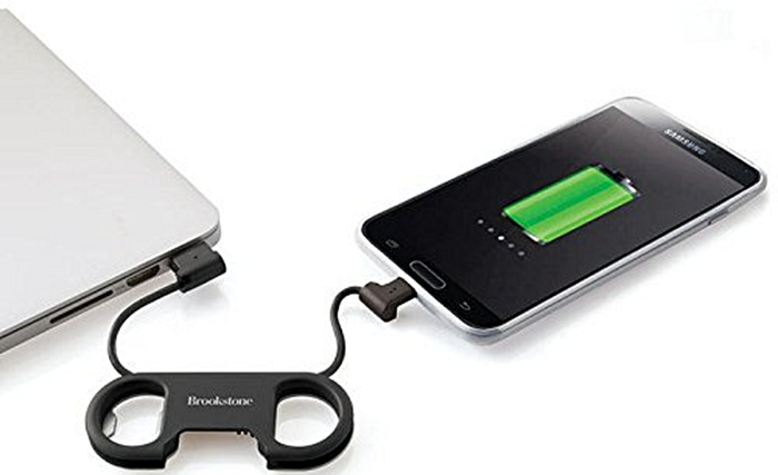 USB Cable Bottle Opener