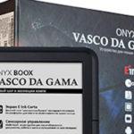 ONYX BOOX Vasco da Gama – недорогой букридер с топовыми характеристиками