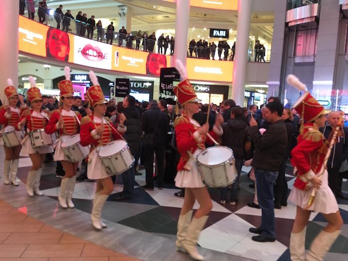 Торжественное открытие магазина Le Eco в ТЦ Атриум на Курской