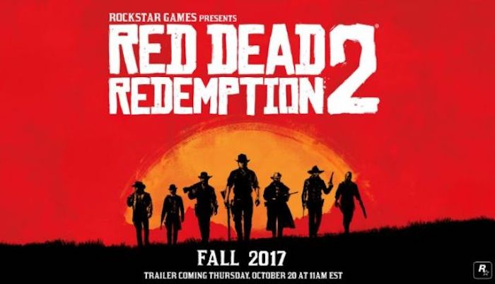 анонс Red Dead Redemption 2