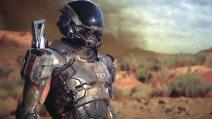 Оружие Mass Effect Andromeda