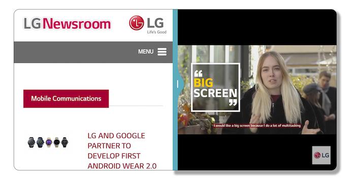 LG пояснила, почему смартфон G6 получил соотношение сторон 18:9