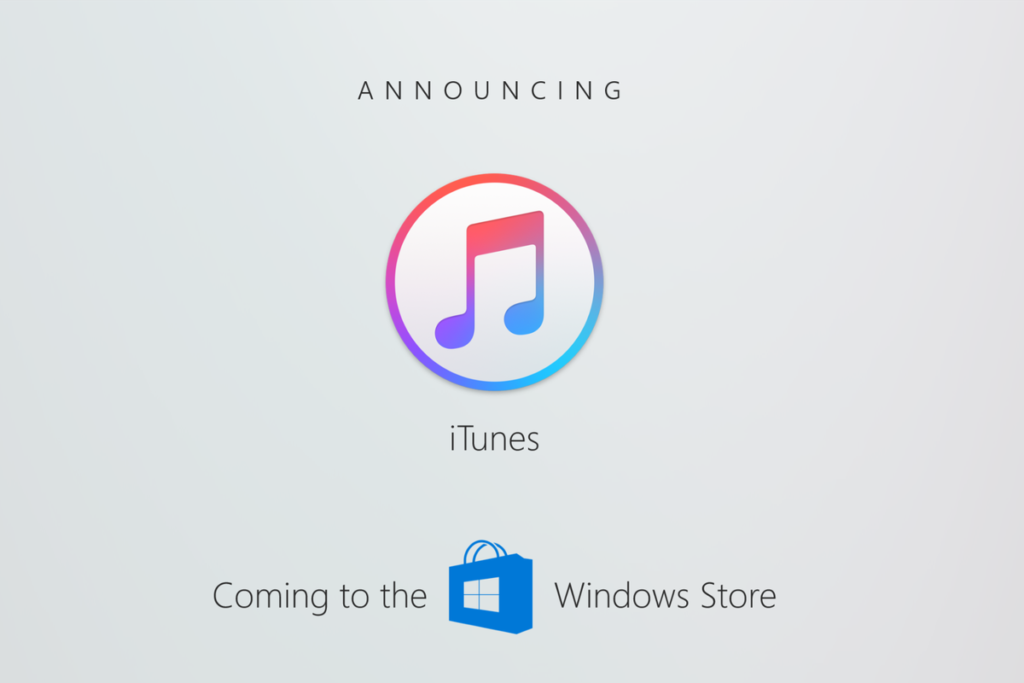Windows 10 S iTunes