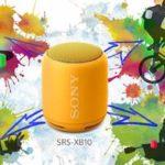Sony представила беспроводную колонку Sony SRS-XB10