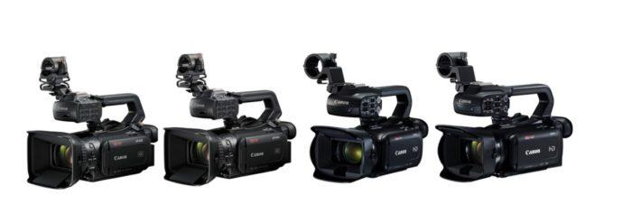 Canon объявила о выпуске четырёх профессиональных видеокамер