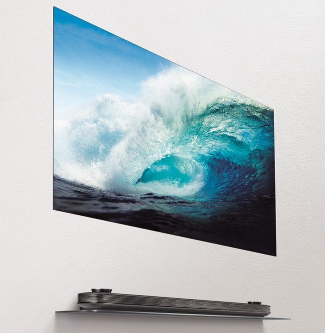 LG запускает рекламную кампанию премиального телевизора LG SIGNATURE OLED65W7V