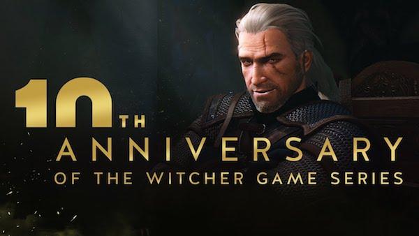 10 лет игре The Witcher