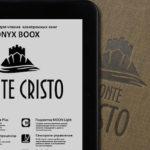 МакЦентр представила букридер ONYX BOOX Monte Cristo 3