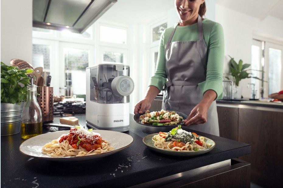 Новая компактная паста-машина Philips HR2332