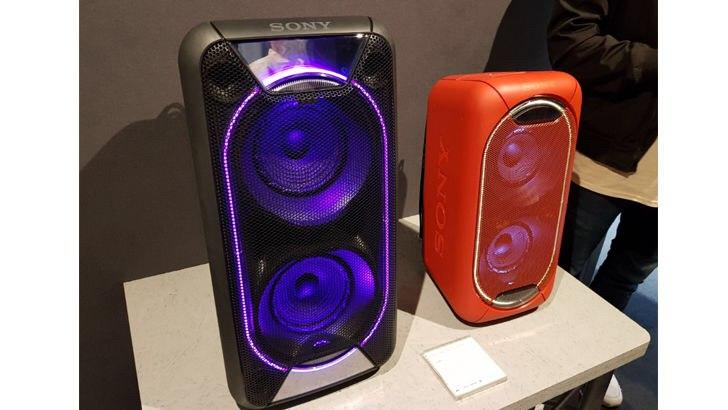 Портативные аудиосистемы Sony GTK-XB90 и GTK-XB60