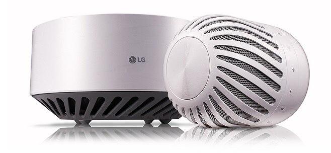 Новая левитирующая колонка LG PJ9